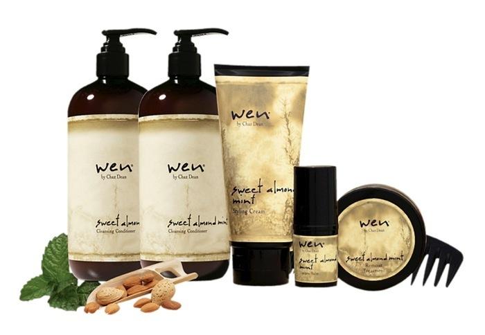 70-0175 342210 WEN HAIR CARE HÅRVÅRD . 90 dagar WEN® Hair Care WEN® Är ett revolutionerande nytt hårvårdsystem som  ersätter shampo, balsam, inpackning och styling – allt i ett! Innehåller en perfekt balans av örter och naturliga ämnen Rengör, återfuktar och tillför näring, styrka och lyster Innehåller inga skadliga kemikalier, utan endast naturliga ämnen! Sparar tid – endast en WEN® Cleansing Conditioner produktersätter shampo, balsam och hårinpackning Med  WEN® får håret glans, lyster och blir lättare att hantera  Löddrar inte, utan innehåller bara skonsamma, vårdande ämnen  12101-FIT02